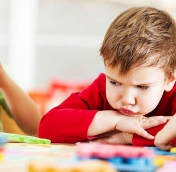La frustración en los niños